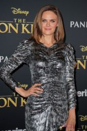 "Emily Deschanel – ""The Lion King"" Premiere in Hollywood"