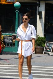 Emily Ratajkowski Summer Style - New York 07/30/2019