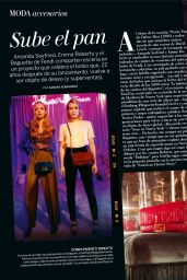 Emma Roberts and Amanda Seyfried - Woman Madame Figaro Espana, August 2019