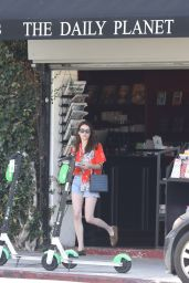 Emma Roberts - Grocery Shopping in Los Angeles 07/21/2019