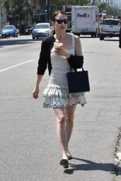 Emma Roberts - Out for Lunch in Los Feliz 07/30/2019