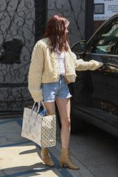 Emma Roberts Shows Off a New Color Hairdo 07/08/2019
