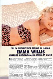 Emma Willis - Hello! Magazine 07/08/2019 Issue