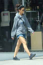 Emmanuelle Chriqui Leggy in Shorts - Los Angeles 07/04/2019