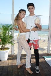 Eva Gutowski – 2019 Instagram Instabeach Party in Pacific Palisades