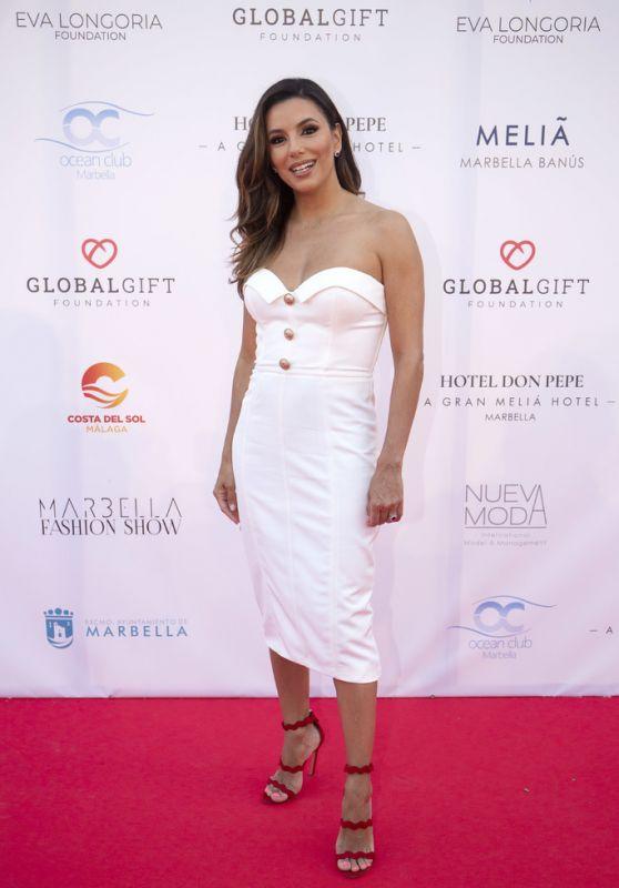 Eva Longoria - Marbella Fashion Show, Global Gift Philanthropic Weekend 07/11/2019