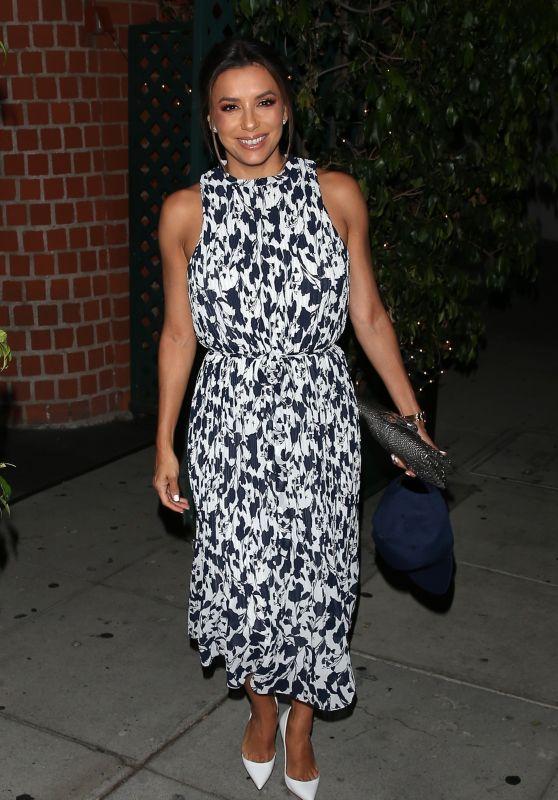 Eva Longoria - Mr. Chow in Beverly Hills 07/29/2019