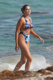 Francesca Aiello in a Bikini at the Beach in Miami 07/16/2019