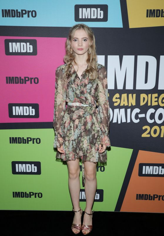 Freya Allen - #IMDboat at SDCC 2019