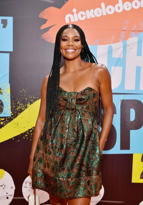 Gabrielle Union – Nickelodeon Kids' Choice Sports Awards 2019 in Santa Monica