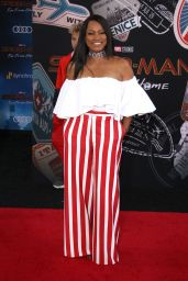 "Garcelle Beauvais – ""Spider-Man: Far From Home"" Red Carpet in Hollywood"