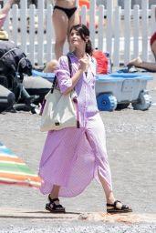Gemma Arterton on Holiday in Positano 07/03/2019