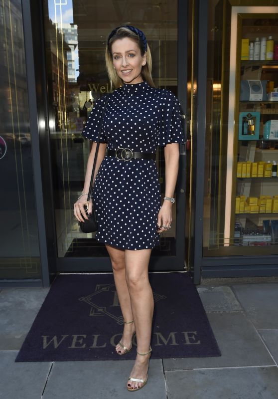 Gemma Merna - House Of Evelyn Hair and Beauty Salon in Manchester 07/05/2019