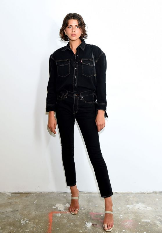Georgia Fowler – WARDROBE.NYC Launch of Release 04 DENIM & Levi's® Collaboration in NY 07/17/2019