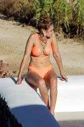 Gigi Hadid in a Bikini on Mykonos Island 07/27/2019