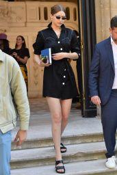 Gigi Hadid - Outside the Valentino Haute Couture Fall/Winter 2019 2020 Show in Paris 07/03/2019