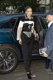 Gigi Hadid - Vogue Magazine Dinner in Paris 07/02/2019