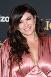 """Gina Carano – """"The Lion King"""" Premiere in Hollywood"""