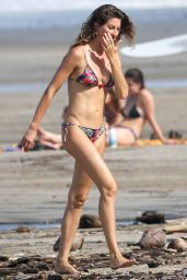 Gisele Bundchen in a Bikini - Beach in Costa Rica 07/16/2019