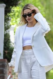 Hailey Rhode Bieber - After a Session With Her Stylist in West Hollywood 07/28/2019