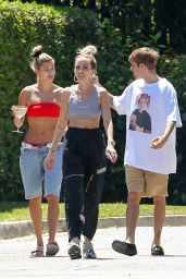 Hailey Rhode Bieber and Justin Bieber - Out in Beverly Hills 07/02/2019