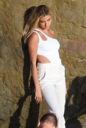 Hailey Rhode Bieber - Photoshoot for Bare Minerals Cosmetics in Malibu 07/23/2019
