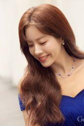 Han Ji Min - Photoshoot for Golden Dew 2019