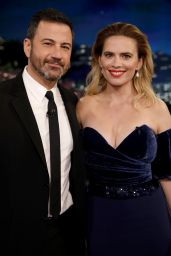 Hayley Atwell - Jimmy Kimmel Live! in Hollywood 07/30/2019