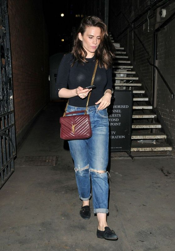 Hayley Atwell - Out in London 06/24/2019