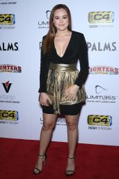 Hayley Orrantia – 2019 World Mixed Martial Arts Awards in Las Vegas