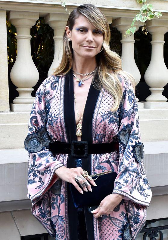 Heidi Klum - Arrives to amfAR Gala in Paris 06/30/2019