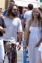 Heidi Klum - Out in Capri 07/28/2019