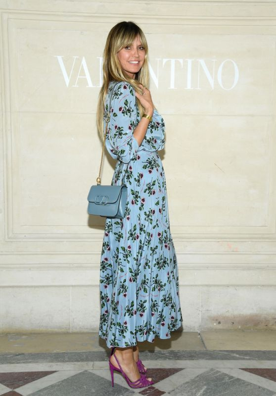 Heidi Klum - Valentino Haute Couture F/W 19/20 Show in Paris