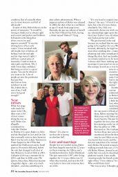 Helen Mirren - Australian Womens Weekly NZ August 2019 Issue