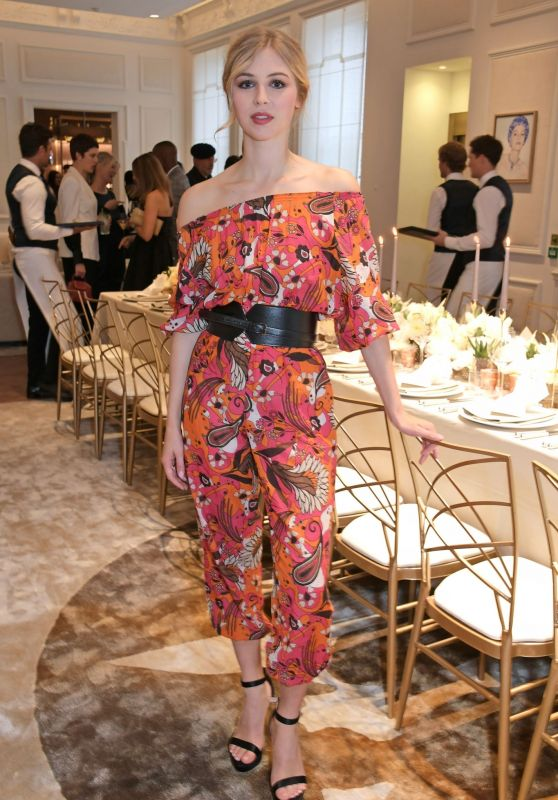 Hermione Corfield - Cartier and British Vogue Darling Dinner in London, June 2019
