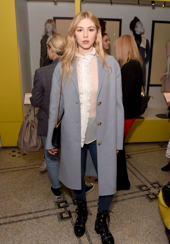 Hermione Corfield - Mary Quaint VIP Preview in London, April 2019