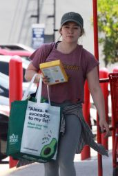 Hilary Duff - Shopping at Trader Joes in Studio City 07/17/2019