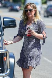 Hilary Duff - Shopping in Studio City 07/10/2019