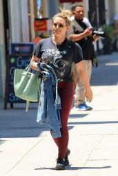 Hilary Duff - Shopping in Studio City 07/15/2019