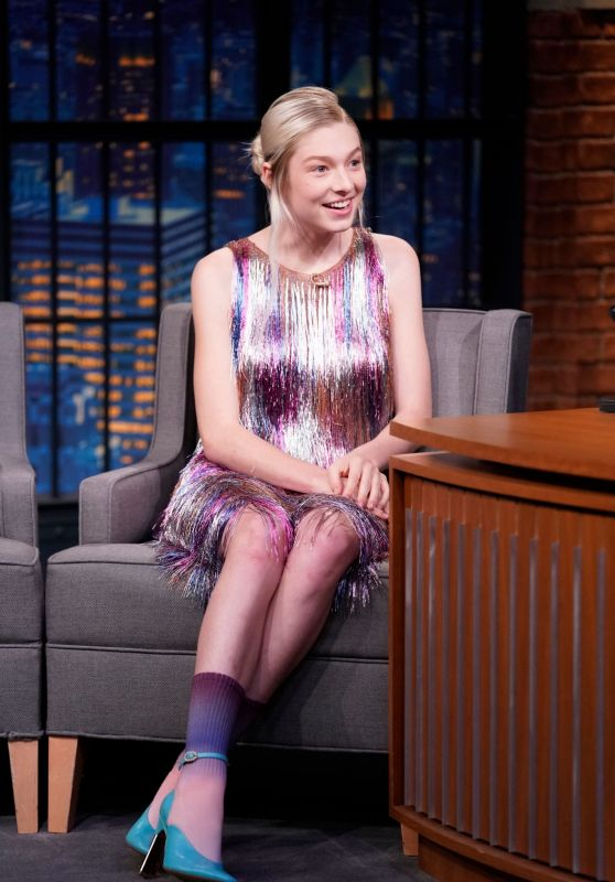 Hunter Schafer - Appeared on Late Night with Seth Meyers 07/23/2019