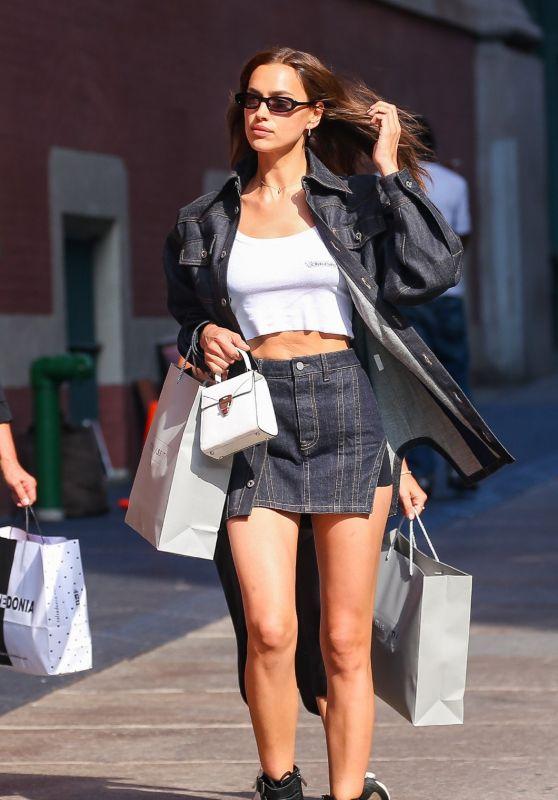 Irina Shayk Street Style 07/12/2019