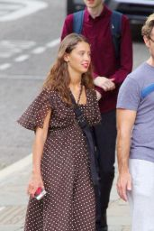 Iris Law and Jude Law - Out for Lunch in London 07/14/2019
