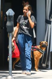 Isabela Moner - Walking Her Dog in West Hollywood 07/17/2019