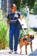 Isabela Moner - Walking Her Dog in West Hollywood 07/17/2019