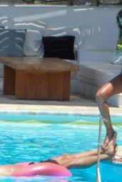 Izabel Goulart in a Bikini at the Pool on Mykonos Island 07/03/2019