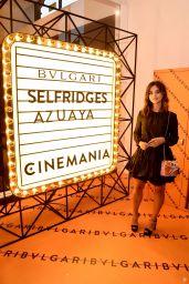 Jenna Coleman - Bvlgari Corner Shop Launch in London 07/10/2019