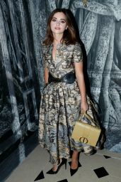 Jenna Coleman – Christian Dior Haute Couture F/W 19/20 Show in Paris