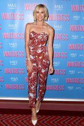 "Jenni Falconer - ""Waitress"" Press Night in London 07/02/2019"