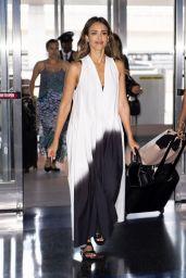 Jessica Alba at JFK Airport in NY 07/17/2019
