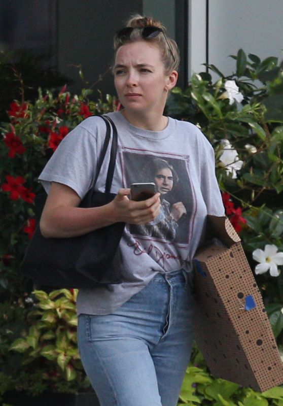 Jodie Comer - Out in Boston 07/29/2019